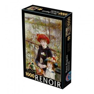 "D-Toys (66909-RE01) - Pierre-Auguste Renoir: ""On the Terrace"" - 1000 piezas"