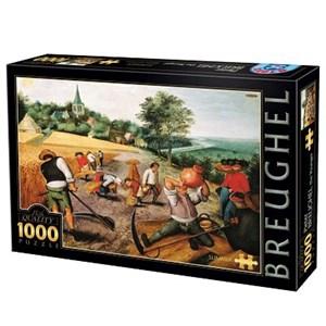 "D-Toys (66947-BR02) - Pieter Brueghel the Elder: ""Summer"" - 1000 piezas"