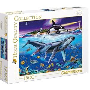 "Clementoni (94053) - Christian Riese Lassen: ""Whales"" - 1500 piezas"