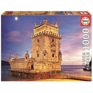 "Educa (17195) - ""Torre de Belém, Lisbon"" - 1000 piezas"