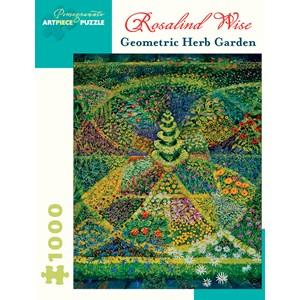 "Pomegranate (AA924) - Rosalind Wise: ""Geometric Herb Garden"" - 1000 piezas"