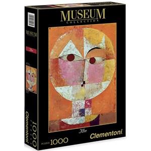 "Clementoni (39213) - Paul Klee: ""Senecio"" - 1000 piezas"