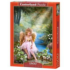 "Castorland (C-150908) - Lisa Jane: ""Golden Pond"" - 1500 piezas"
