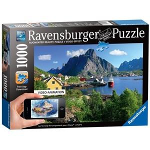 """Ravensburger (19303) - """"Lofoten Norway"""" - 1000 piezas"""
