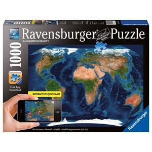 "Ravensburger (19308) - ""World Map"" - 1000 piezas"