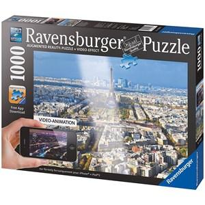 "Ravensburger (19302) - ""Above The Roofs Of Paris"" - 1000 piezas"