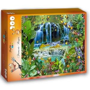 """Grafika Kids (01943) - François Ruyer: """"Waterfall"""" - 300 piezas"""