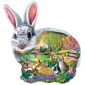 "SunsOut (95165) - Mary Thompson: ""Bunny Hollow"" - 1000 piezas"