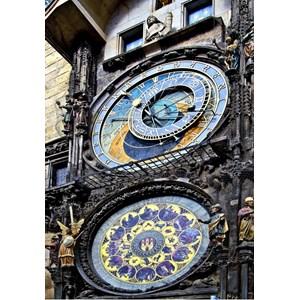 "Grafika Kids (01962) - ""Prague Astronomical Clock"" - 100 piezas"