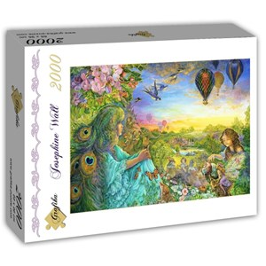 "Grafika (T-00529) - Josephine Wall: ""Daydreaming"" - 2000 piezas"