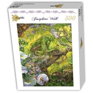 "Grafika (T-00540) - Josephine Wall: ""Forest Protector"" - 500 piezas"