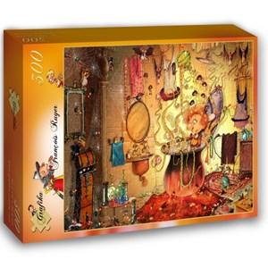 "Grafika (02663) - François Ruyer: ""The Bath"" - 300 piezas"
