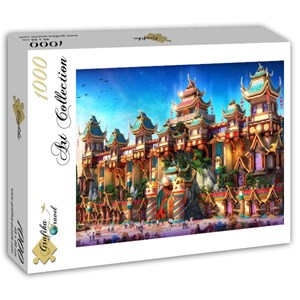 "Grafika (T-00675) - ""Fairyland China"" - 1000 piezas"