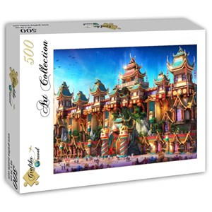 "Grafika (T-00676) - ""Fairyland China"" - 500 piezas"
