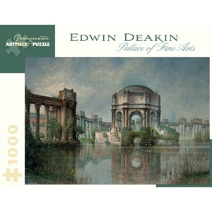 "Pomegranate (AA900) - Edwin Deakin: ""Palace of Fine Arts and the Lagoon"" - 1000 piezas"