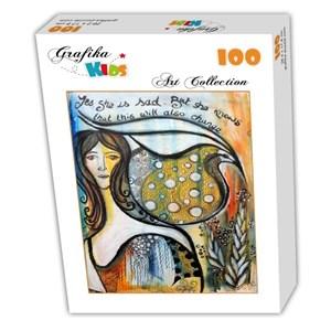 "Grafika Kids (02018) - ""This too shall pass"" - 100 piezas"