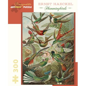 "Pomegranate (JK053) - Ernst Haeckel: ""Hummingbirds"" - 300 piezas"