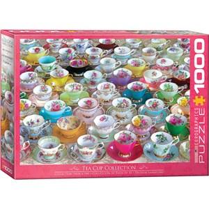 "Eurographics (6000-5314) - ""Tea Cups"" - 1000 piezas"