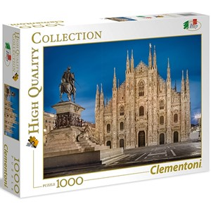 "Clementoni (39454) - ""Milan, Italy"" - 1000 piezas"