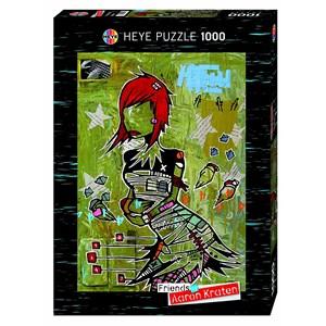 "Heye (29417) - Aaron Kraten: ""Redhead"" - 1000 piezas"