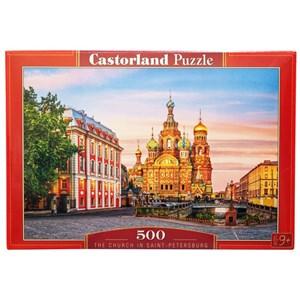 "Castorland (B-52257) - ""The Church In Saint-Petersburg"" - 500 piezas"