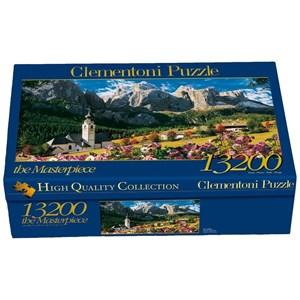 """Clementoni (38007) - """"Dolomites, Italy"""" - 13200 piezas"""