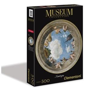 "Clementoni (30321) - Andrea Mantegna: ""Affreschi Palazzo Ducale Mantova"" - 500 piezas"