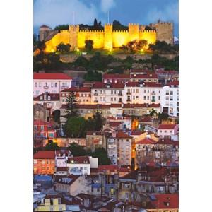 """Educa (14841) - """"Saint George Castle, Lisbon"""" - 500 piezas"""