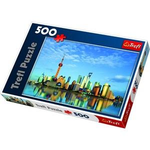 "Trefl (37163) - ""Shanghai, China"" - 500 piezas"