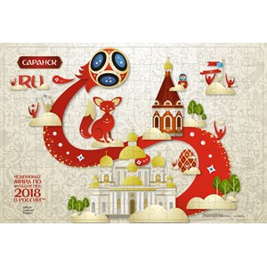 "Origami (03816) - ""Saransk, Host city, FIFA World Cup 2018"" - 160 piezas"