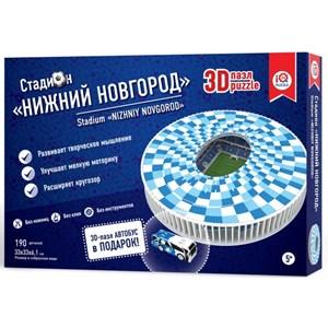 "IQ 3D Puzzle (16554) - ""Stadium Nizhny Novgorod"" - 190 piezas"