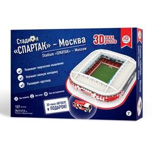 """IQ 3D Puzzle (16545) - """"Stadium Spartak, Moscow"""" - 107 piezas"""
