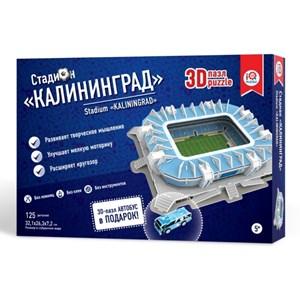 """IQ 3D Puzzle (16555) - """"Stadium Kaliningrad"""" - 125 piezas"""