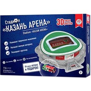 """IQ 3D Puzzle (16547) - """"Stadium Kazan Arena"""" - 116 piezas"""