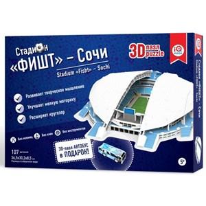 """IQ 3D Puzzle (16552) - """"Stadium Fisht, Sochi"""" - 107 piezas"""