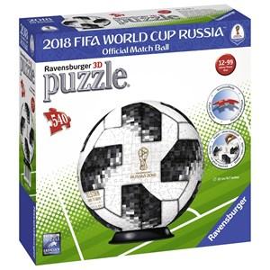 "Ravensburger (12437) - ""Matchball 2018 FIFA World Cup"" - 540 piezas"