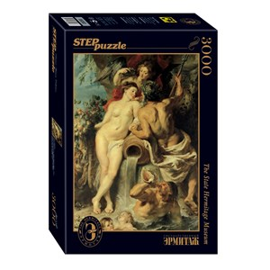 "Step Puzzle (85203) - Peter Paul Rubens: ""The Union of Earth and Water"" - 3000 piezas"