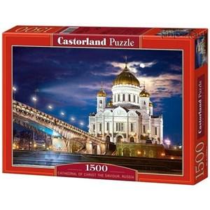 "Castorland (C-150533) - ""Cathedral of Christ the Saviour, Russia"" - 1500 piezas"