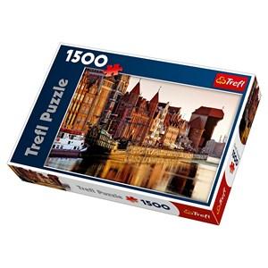 """Trefl (26117) - """"Gdansk, Poland"""" - 1500 piezas"""