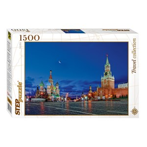 """Step Puzzle (83051) - """"Red Square, Moscow"""" - 1500 piezas"""
