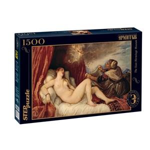 "Step Puzzle (83206) - Titian (Tiziano Vecelli): ""Danaë"" - 1500 piezas"