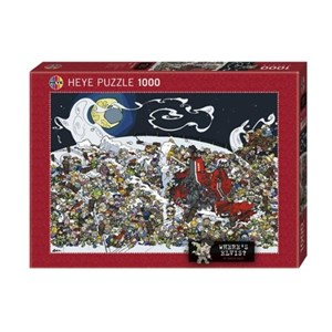 "Heye (29420) - Daniel Lalic: ""Where's Elvis?"" - 1000 piezas"