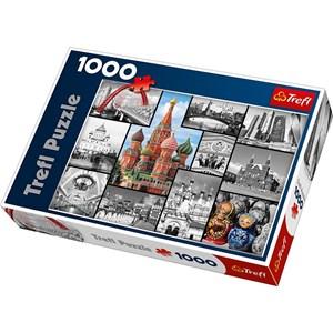 "Trefl (10380) - ""Moscow Collage"" - 1000 piezas"