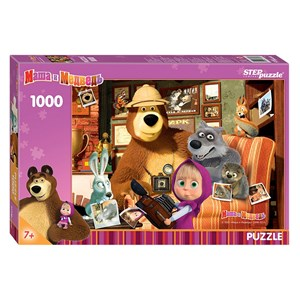 "Step Puzzle (79605) - ""Masha and the Bear"" - 1000 piezas"