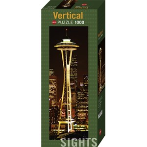 "Heye (29553) - ""Space Needle, Seattle"" - 1000 piezas"