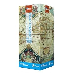 "Step Puzzle (98016) - ""Historical Map"" - 1000 piezas"