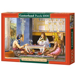 "Castorland (C-102778) - Lawrence Alma-Tadema: ""Egyptian Chess Players"" - 1000 piezas"