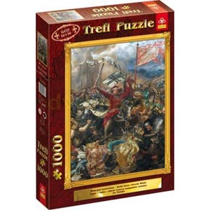 "Trefl (10231) - Jan Matejko: ""Battle of Grunwald"" - 1000 piezas"