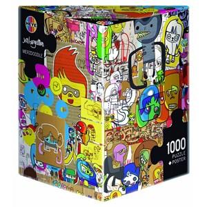 "Heye (29490) - Jon Burgerman: ""Merzdoodle"" - 1000 piezas"