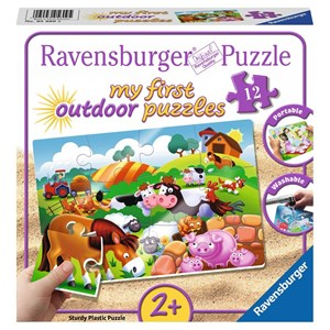 "Ravensburger (56095) - ""Dear Farm Animals"" - 12 piezas"